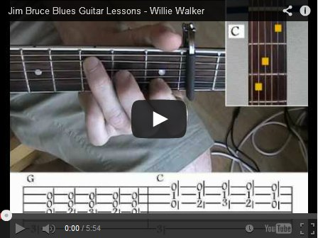 Learn How To Play Blues Guitar Jim Bruce Blues Guitar